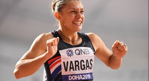 Costa Rican athlete Andrea Vargas